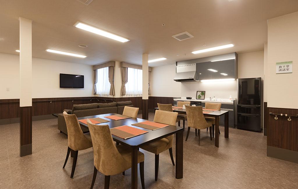 グランフォレスト方上 食堂・談話室