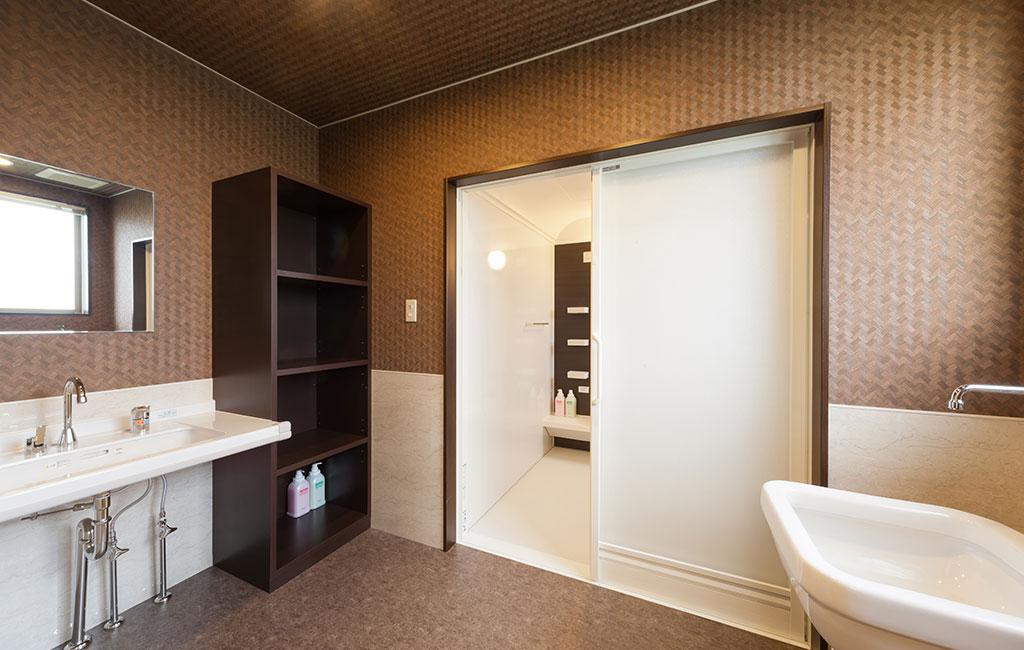 グランフォレスト方上 浴室・脱衣所
